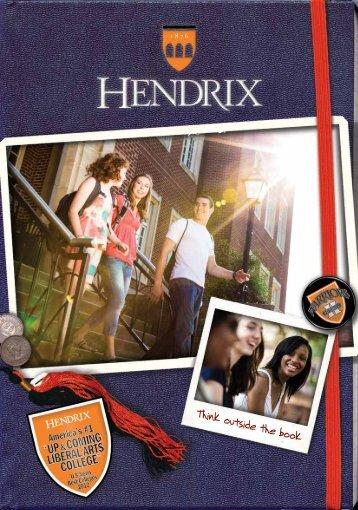 2012-2013 Viewbook - Hendrix College