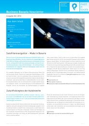 Business Bavaria Newsletter