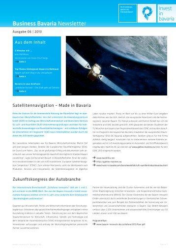 Business Bavaria Newsletter