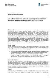 Zusammenfassung der Studie (PDF, 283.75 KB) - Bieler Tagblatt