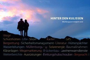 Schwerpunkt: Hinter den Kulissen - München und Oberland