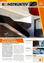 Ausgabe 2013/01 - DW Systembau GmbH