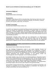 006 Beschlüsse vom 19.03.2013 - Gemeinde Hartheim