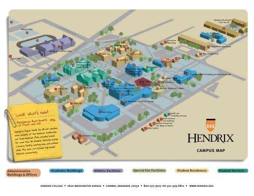 Campus Map Hendrix College