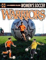 warrior profiles - Hendrix College