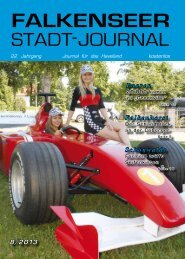 August 2013 - Falkenseer Stadtjournal
