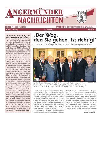 Nr. 03/2013 - Angermünde