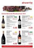 Weine des Monats Flyer A4 Januar - Akzenta - Seite 2