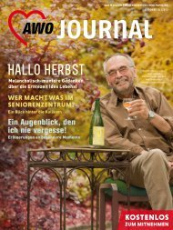 Hallo Herbst - AWO Journal