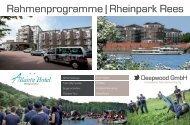 Rahmenprogramme | Rheinpark Rees - Deepwood