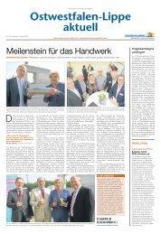 Nr. 15/2013 - Handwerkskammer Ostwestfalen-Lippe zu Bielefeld