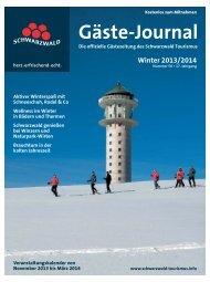 Gäste-Journal - Schwarzwälder Bote