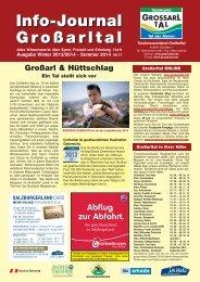 Info-Journal Großarltal Info-Journal Großarltal - Download brochures ...