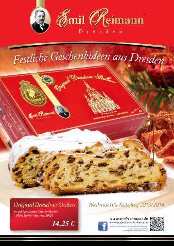 Weihnachts-Katalog 2013/2014 - Emil Reimann GmbH