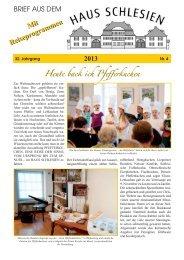 Info... - Haus Schlesien