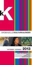 Kulturkalender Sept.-Dez. 2013.pdf - Gröbenzell