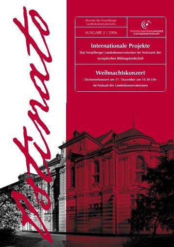 Internationale Projekte Weihnachtskonzert