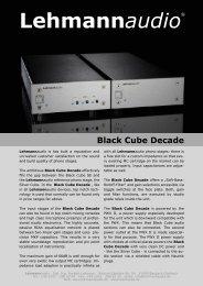 Decade Overview - Henley Designs Ltd.