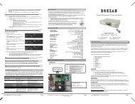 Caspian M2 Balanced CD Player User Manual - Henley Designs Ltd.