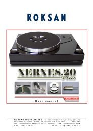 Xerxes 20+ Manual - Henley Designs Ltd.