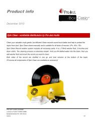 Spin Clean - Pro-Ject Audio Systems