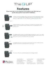 The Q-UP Manual - Henley Designs Ltd.