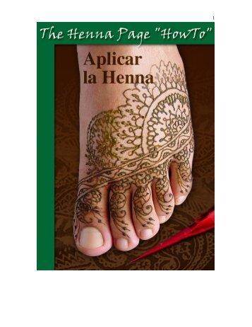 Aplicar la Henna? - The Henna Page