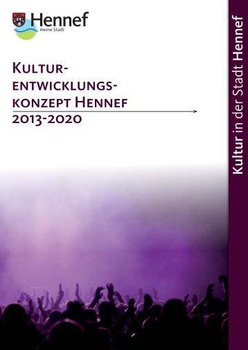Kultur- entwicklungs- konzept Hennef 2013-2020