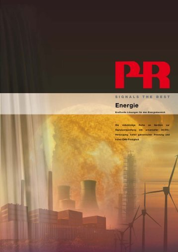 Energie - PR electronics GmbH