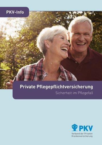 Private Pflegepflichtversicherung - PKV - Verband der privaten ...