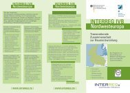 Faltblatt INTERREG IVB Nordwesteuropa - Hessisches Ministerium ...