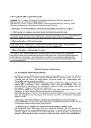 Einwilligungs-/Schweigepflichtentbindungserklärung ohne ...