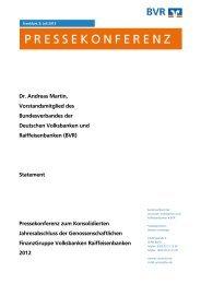 Dr. Andreas Martin, Vorstandsmitglied des Bundesverbandes der ...
