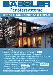 Kunststoff-Fenster · Haustüren · Markisen und ... - BAESSLER