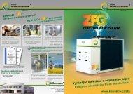 Brožura ZERO FUEL GEN® 50kW ORC - Hennlich