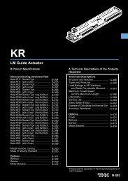 LM Guide Actuator - Hennlich