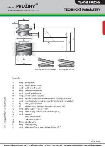 Technické parametry - Hennlich