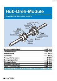 Hub-Dreh-Module - Hennlich