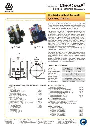 IL - Elektrická čerpadla QLS - Hennlich