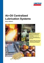 Air-Oil Centralized Lubrication Systems - Hennlich