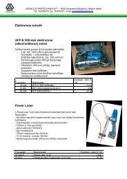 Elektromos zsírzók - HENNLICH Ipartechnika Kft