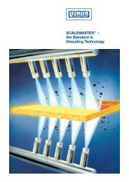 SCALEMASTER® – the Standard in Descaling Technology