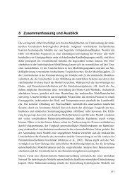 8 Zusammenfassung und Ausblick - Ruhr-Universität Bochum