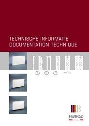 technische informatie documentation technique - Henrad