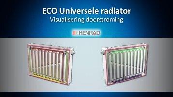 ECO radiator: doorstroming - Henrad