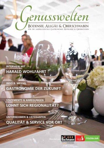 Das Genusswelten-Magazin als PDF finden Sie ... - Buchmann GmbH
