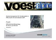 voestalpine Stahl GmbH - Evoloso