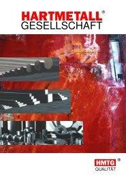 HMTG Informationsbroschüre - Hartmetall-Gesellschaft Bingmann ...