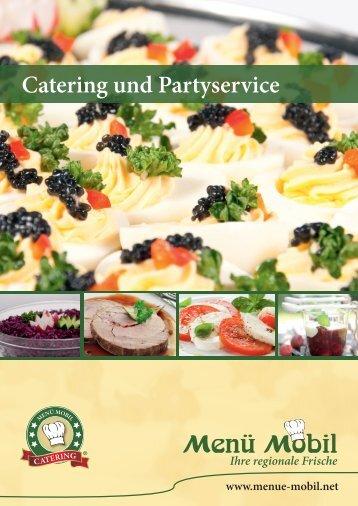 Cateringkatalog - Menü Mobil