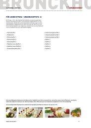 Buffet Karte downloaden - Brunckhorst Catering